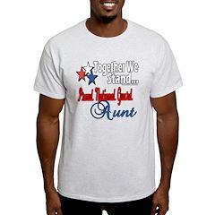 National Guard Aunt T-Shirt