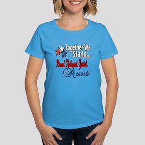 National Guard Aunt Women's Dark T-Shirt