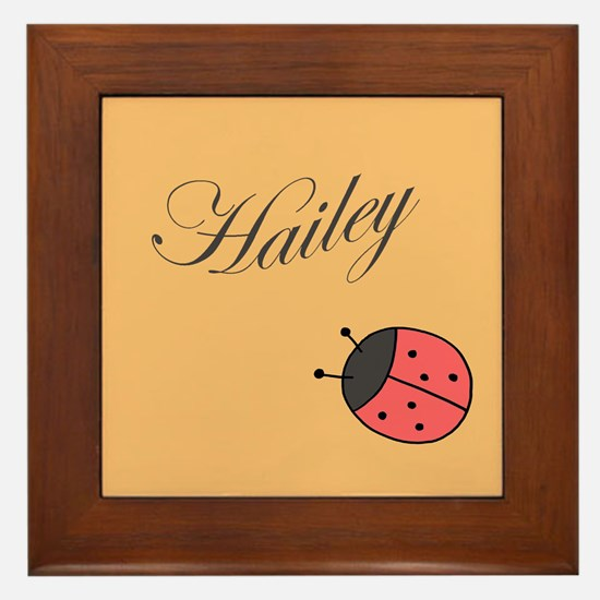 Custom Baby's name or Child's name Framed Tile