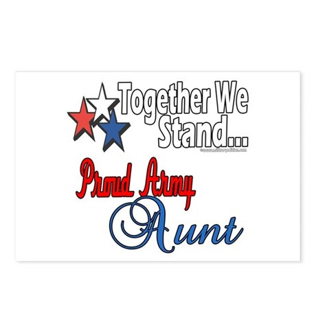 Proud Army Aunt Postcards (Package of 8)