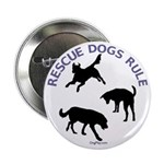 Rescue Dogs Rule Button
