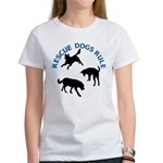 Rescue Dogs Rule Women's T-Shirt