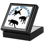 Rescue Dogs Rule Keepsake Box
