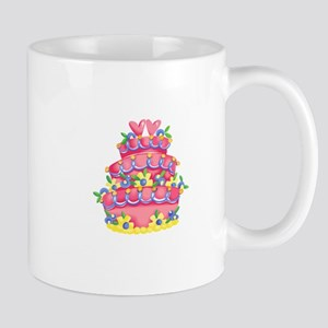 CAKE WITH HEARTS Mugs