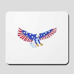 AMERICAN EAGLE IN FLIGHT Mousepad