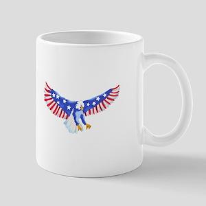 AMERICAN EAGLE IN FLIGHT Mugs
