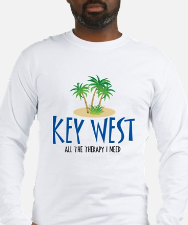 Key West Therapy - Long Sleeve T-Shirt