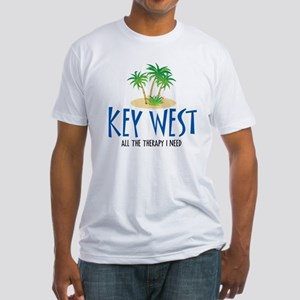 Key West Therapy - Fitted T-Shirt