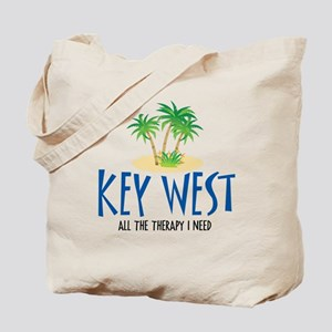 Key West Therapy - Tote or Beach Bag