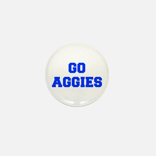 Aggies-Fre blue Mini Button