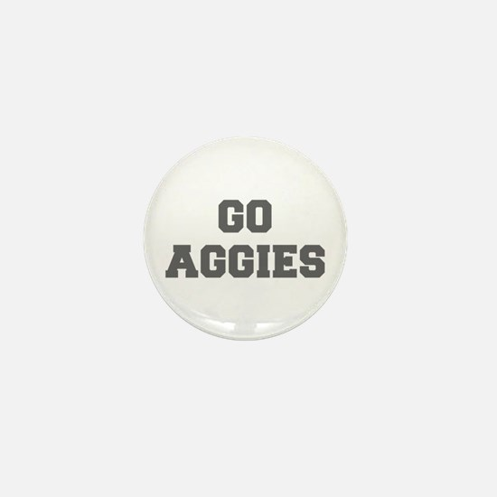 AGGIES-Fre gray Mini Button