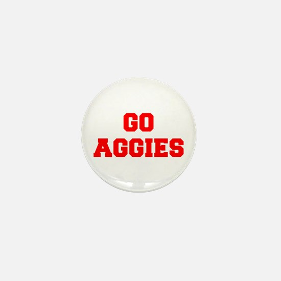 AGGIES-Fre red Mini Button