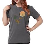 Moon, japanese pampas Womens Comfort Colors Shirt