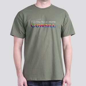 More Cowsill Rainbow Dark T-Shirt