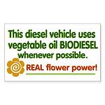 Biodiesel small bumper sticker