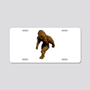 WALK ON TODAY Aluminum License Plate