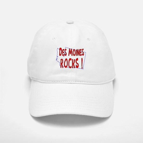 Des Moines Rocks ! Baseball Baseball Cap