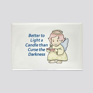 LIGHT A CANDLE Magnets