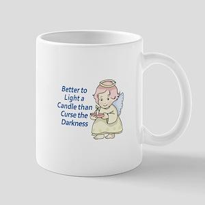 LIGHT A CANDLE Mugs