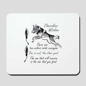 CHEROKEE WISDOM Mousepad