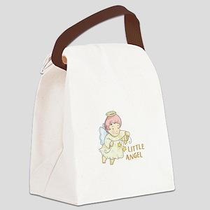 LITTLE ANGEL Canvas Lunch Bag