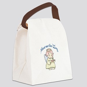 SHOW ME THE WAY Canvas Lunch Bag