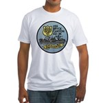 USS BRYCE CANYON Fitted T-Shirt