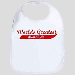 Greatest Great Uncle (red) Bib