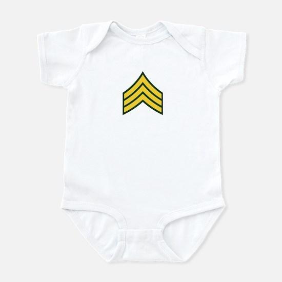 "Army E5 ""Class A's"" Infant Bodysuit"