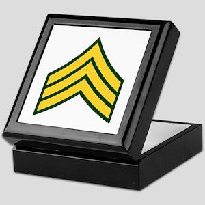 "Army E5 ""Class A's"" Keepsake Box"