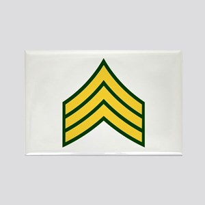 "Army E5 ""Class A's"" Rectangle Magnet"