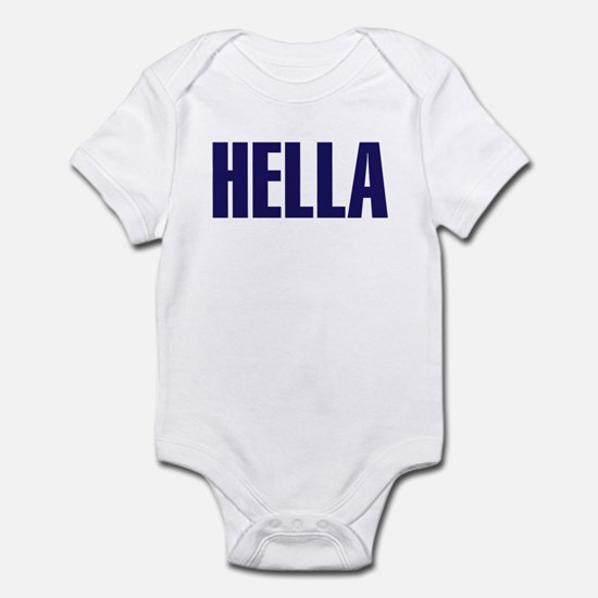 Hella Infant Bodysuit