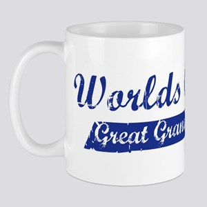 Greatest Great Grandpa (blue) Mug