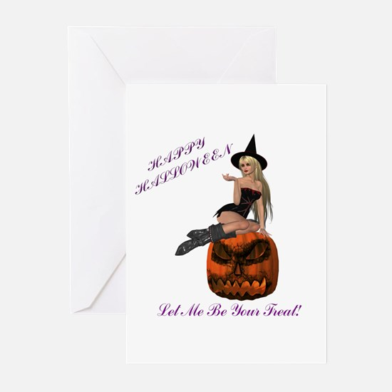 Treat Witch Greeting Cards (Pk of 10)