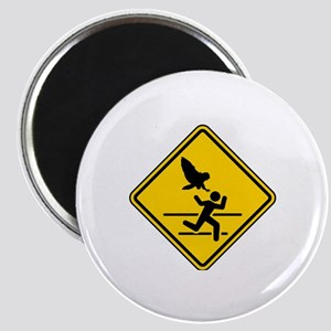 Oregon Owl Attack Warning Magnet