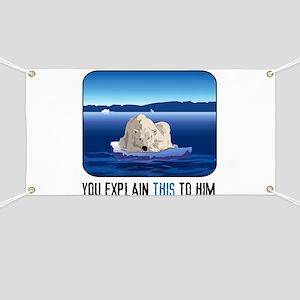 Arctic Polar Bear Banner