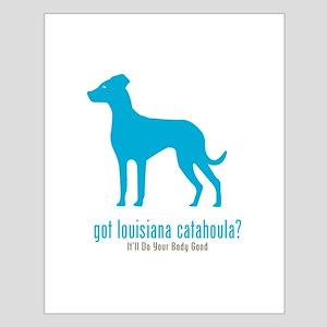 Louisiana Catahoula Small Poster