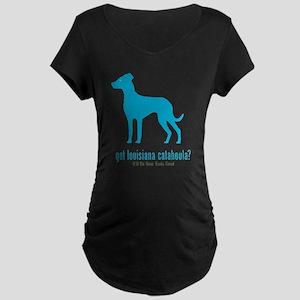 Louisiana Catahoula Maternity Dark T-Shirt