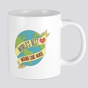 World's Best Wound Care Nurse Mugs