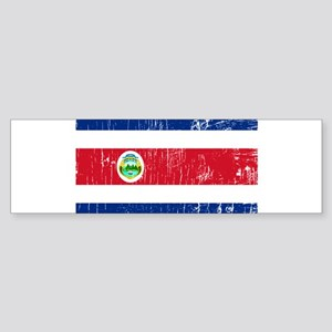 Vintage Costa Rica Bumper Sticker