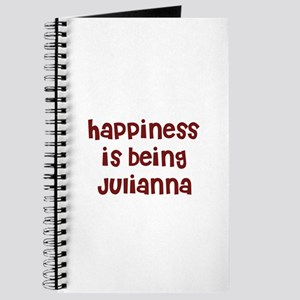 happiness is being Julianna Journal