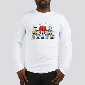 Peanuts Gang Christmas Long Sleeve T-Shirt