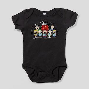 Peanuts Gang Christmas Baby Bodysuit