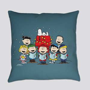 Peanuts Gang Christmas Everyday Pillow