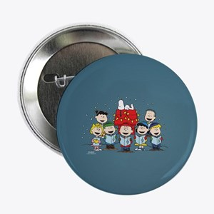 """Peanuts Gang Christmas 2.25"""" Button (10 pack)"""