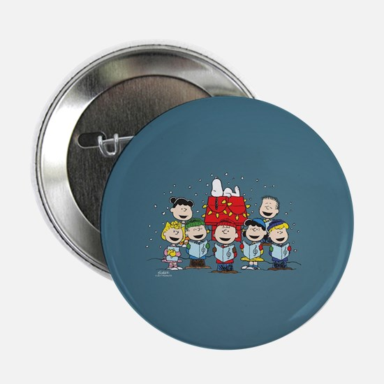 "Peanuts Gang Christmas 2.25"" Button (10 pack)"
