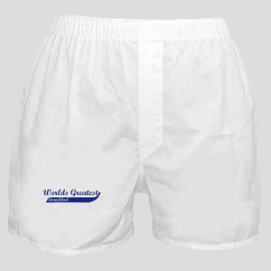 Greatest Granddad (blue) Boxer Shorts