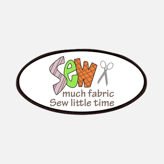 SEW MUCH FABRIC Patch