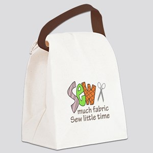 SEW MUCH FABRIC Canvas Lunch Bag