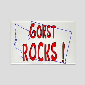 Gorst Rocks ! Rectangle Magnet